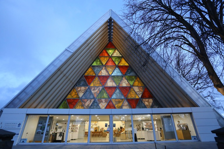 Christchurch's Cardboard Cathedral