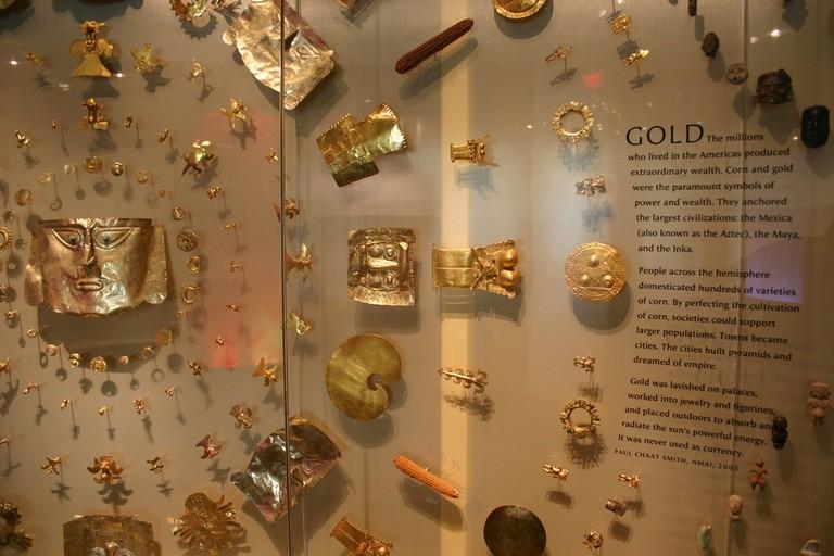 Artifacts at NMAI