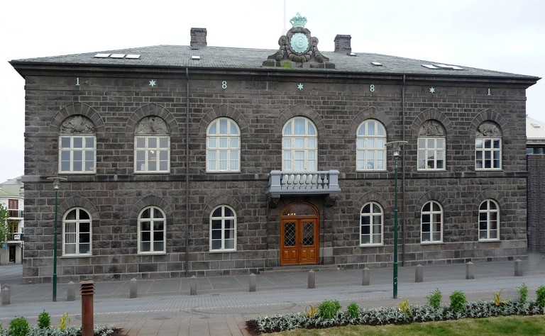 Alþingi (Althingi), Icelandic Parliament, Reykjavik   © putneymark/Flickr