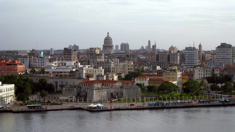 View of Havana from La Cabana Fortress