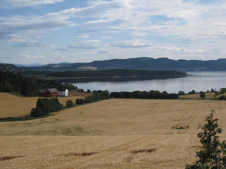 View of Beitstadfjorden