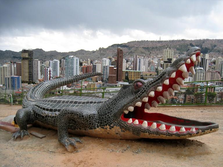 Playground just above Parque Urbano, La Paz