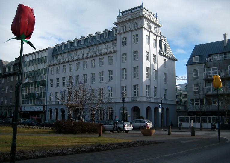 Hotel Borg   © Börkur Sigurbjörnsson/Flickr
