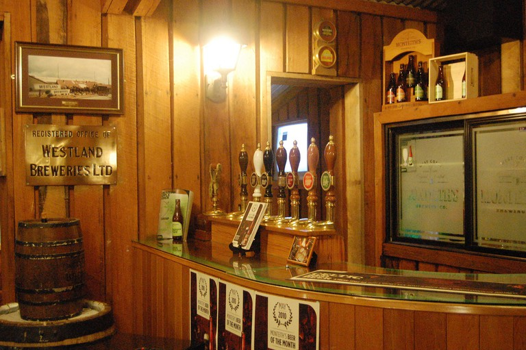 Monteith's Brewery in Greymouth