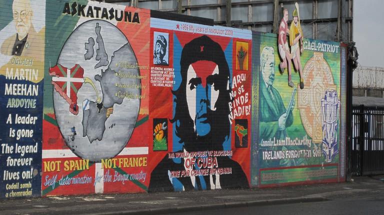 Murals in Belfast