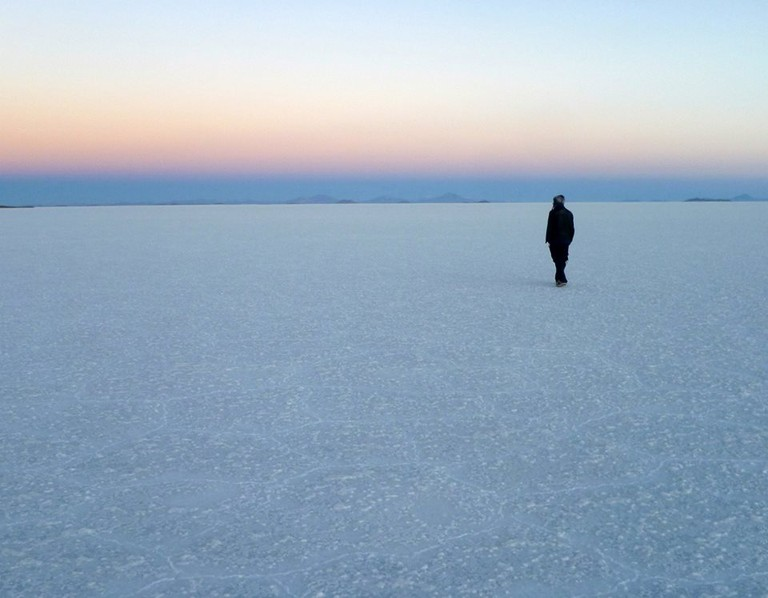 The Bolivian Salt Flats