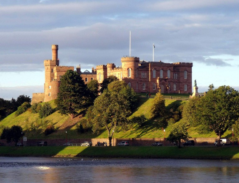 Inverness Castle, Start/End Point of the NC500