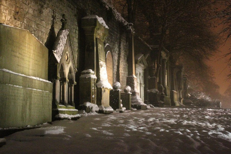 Necropolis At Night