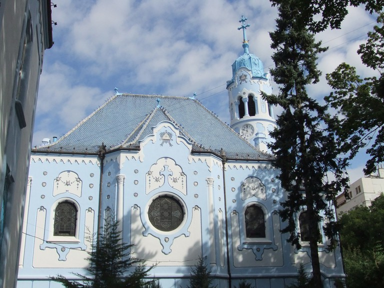 The whimsical Blue Church I