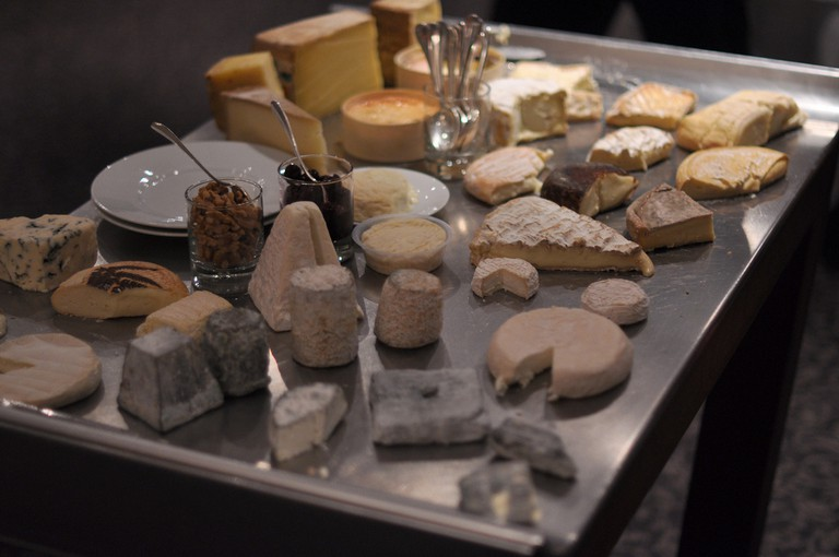 French Cheese Board
