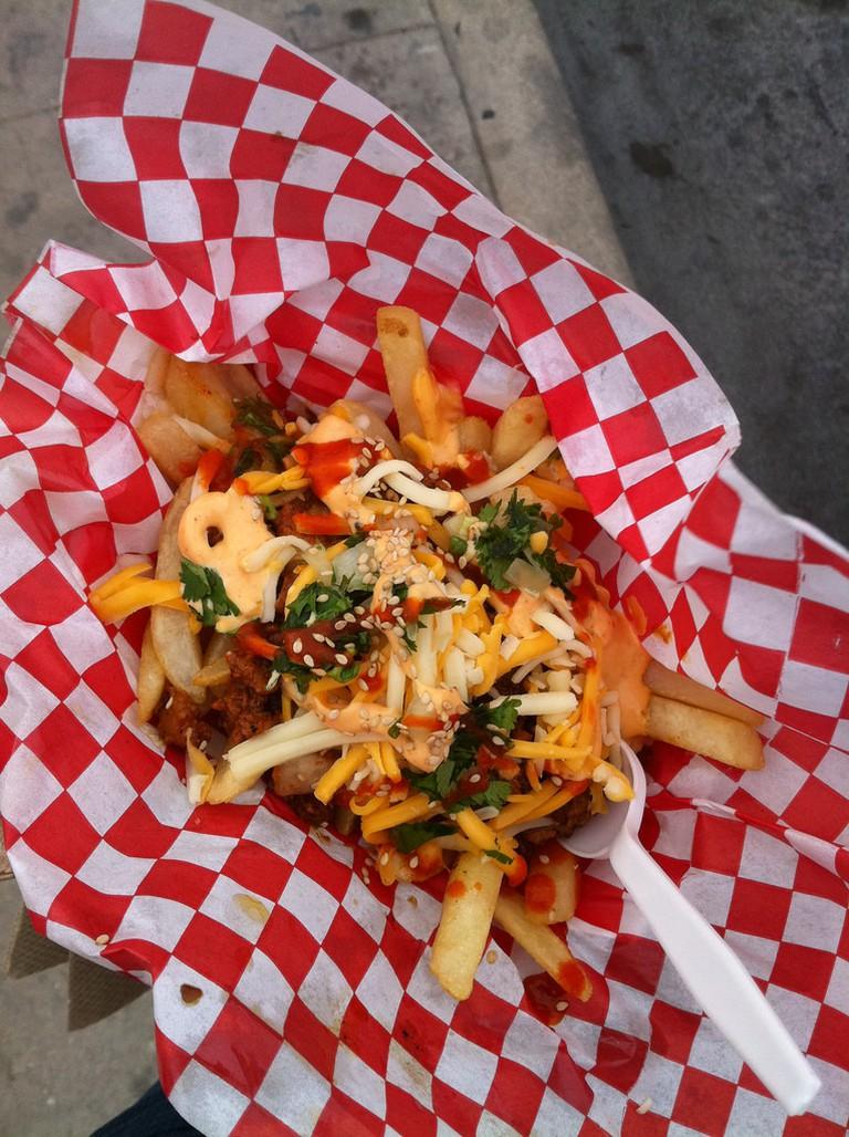 Kimchi fries | © justgrimes/Flickr