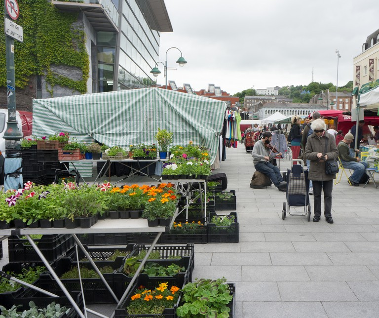 Coal Quay Market, at a temporary location on Emmet Place | © William Murphy/Flickr