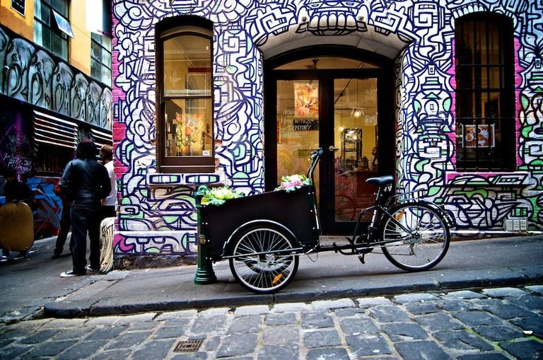 Hosier Lane: Hoboken Café