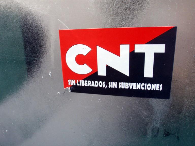The CNT is still active today © Daniel Lobo