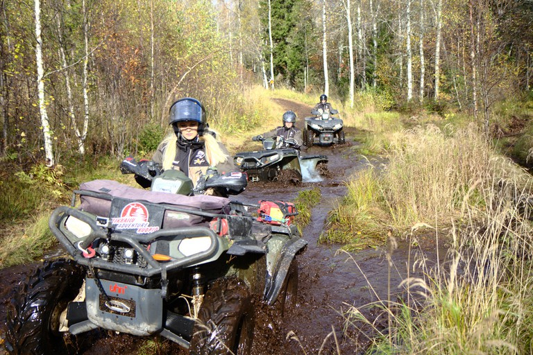 Muddy Quad Biking