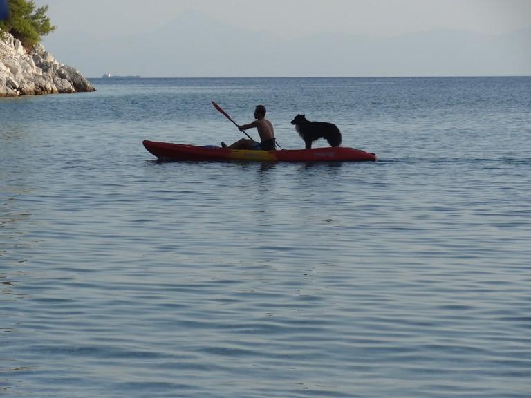 Kayaking in Skopelos