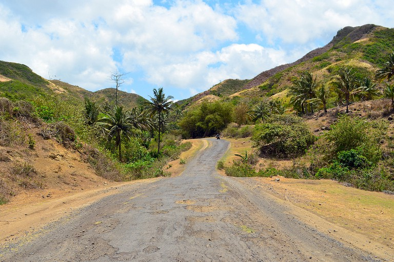 The less-crowded Lombok