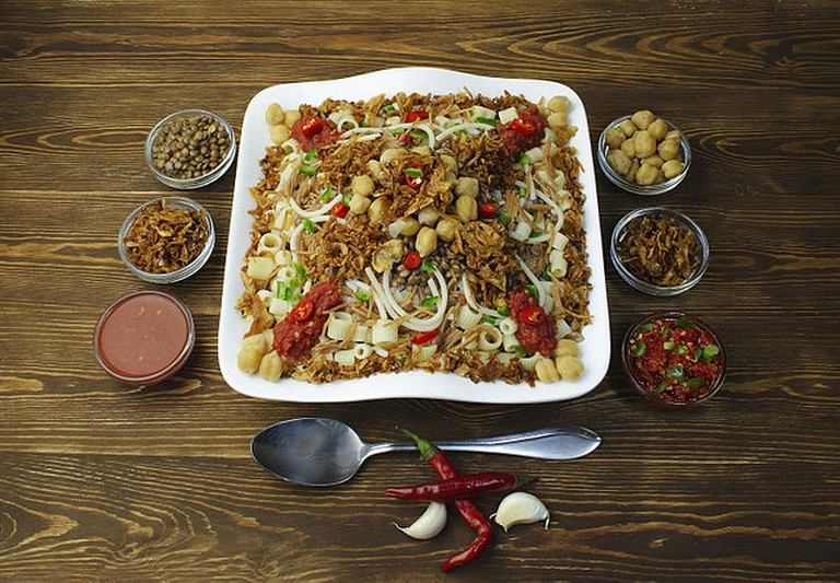 Egyptian food Koshary