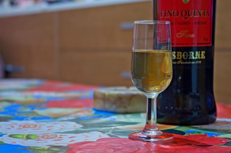 Spanish sherry or Jerez © Jonathan Rubio H.