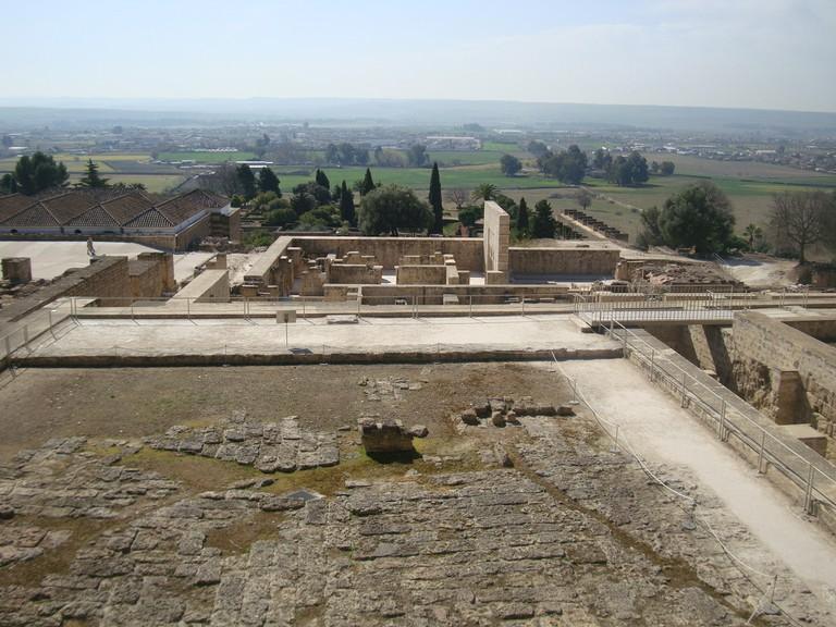 The Medina Azahara has a terraced layout unusual in Moorish design I