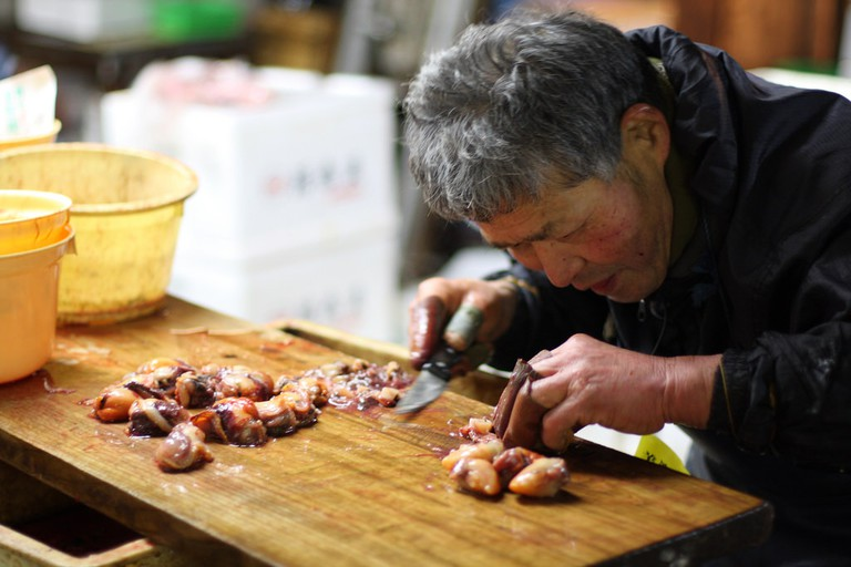 Tsukiji Fish Market @ I yeowatzup