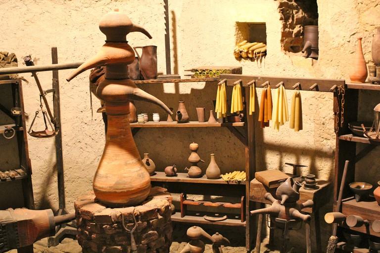 Candlestick maker house on Golden Lane