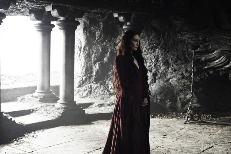 'Game Of Thrones', Series 3 EP302 Featuring Carice Van Houten as Melissandre