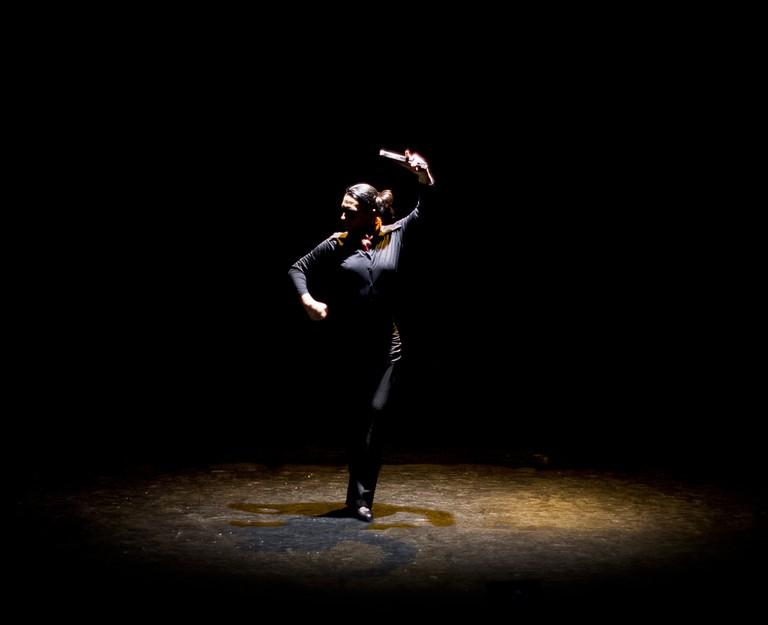 A flamenco dancer © Omar Báez Camarena