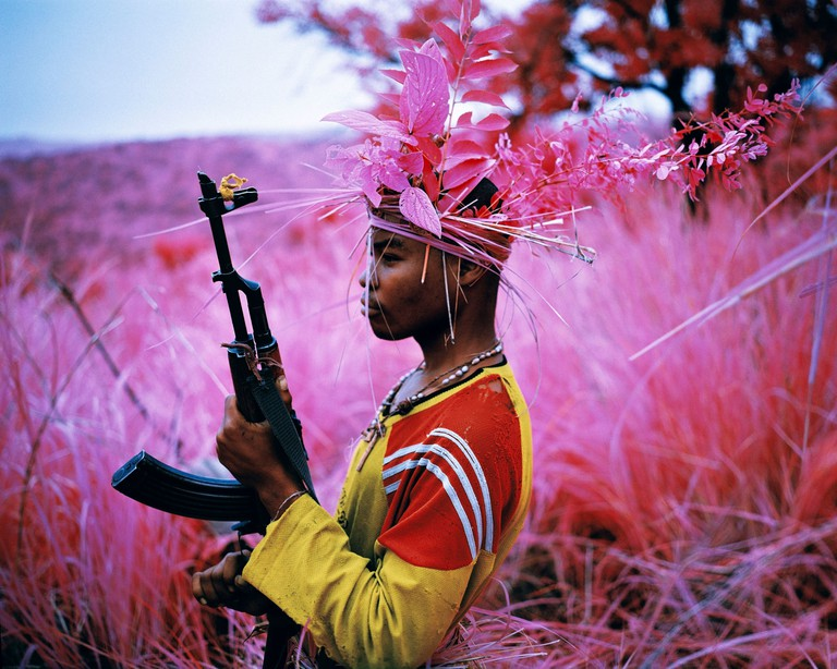 Richard Mosse, Safe from Harm, South Kivu, eastern D.R. Congo, 2012