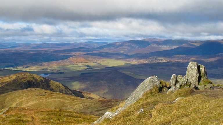 View From Ben Vrackie
