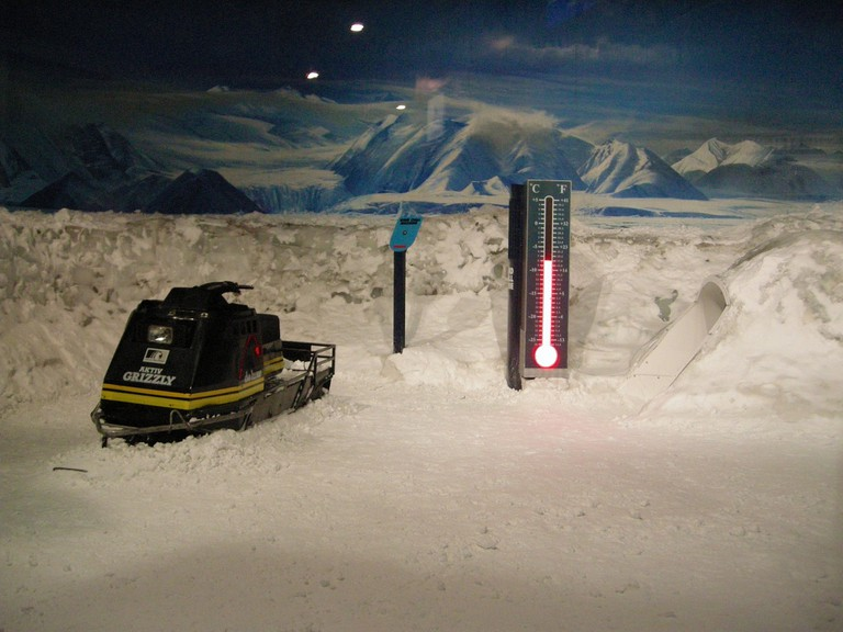 The Storm Room at the International Antarctic Centre