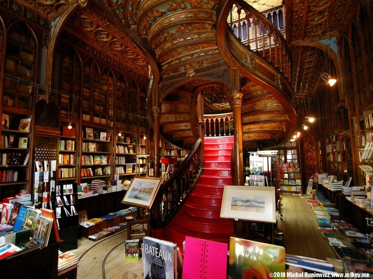 Livraria Lello, Portugal | © Michał Huniewicz / Flickr