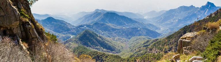 Elephant Trunk Peak at Mont Tai