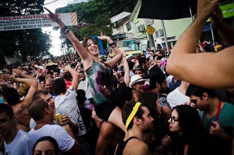 Carnival celebrations in São Paulo