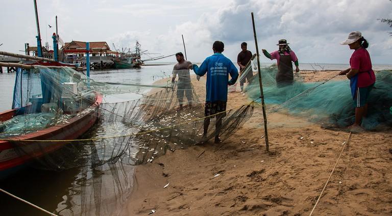 Southern Thailand Coastline