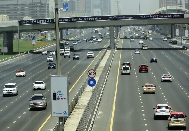 Dubai highway