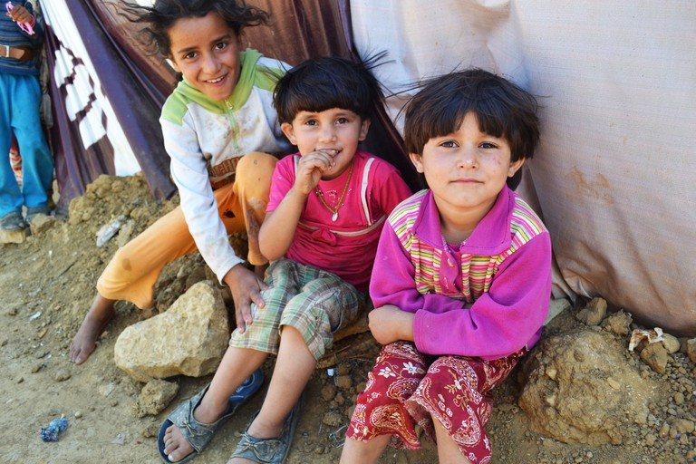 Syrian refugee children in Lebanon   © Trocaire
