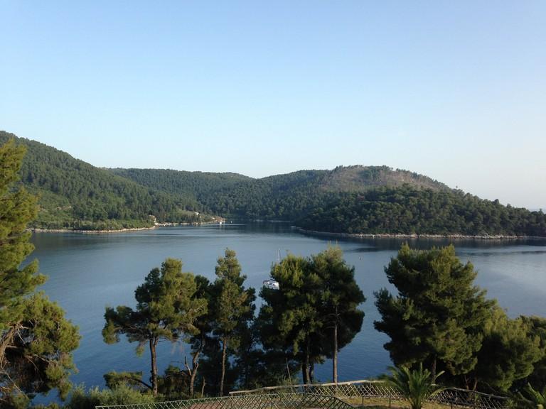 Pine-covered Skopelos