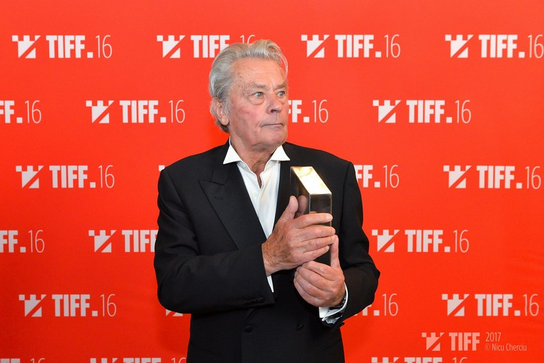Alain Delon – Lifetime Achivement – TIFF 2017 | © Nicu Cherciu