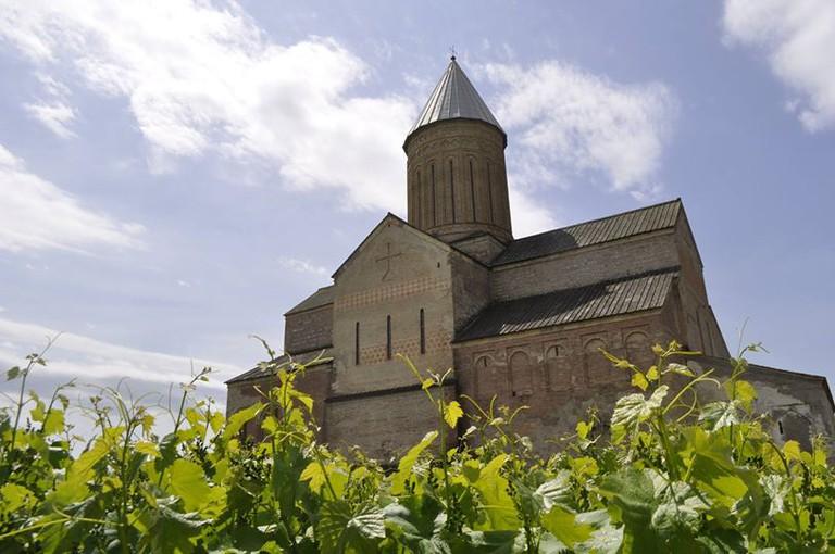 Alaverdi Monastery in Kakheti, Georgia. Monks have been making wine here since 1011