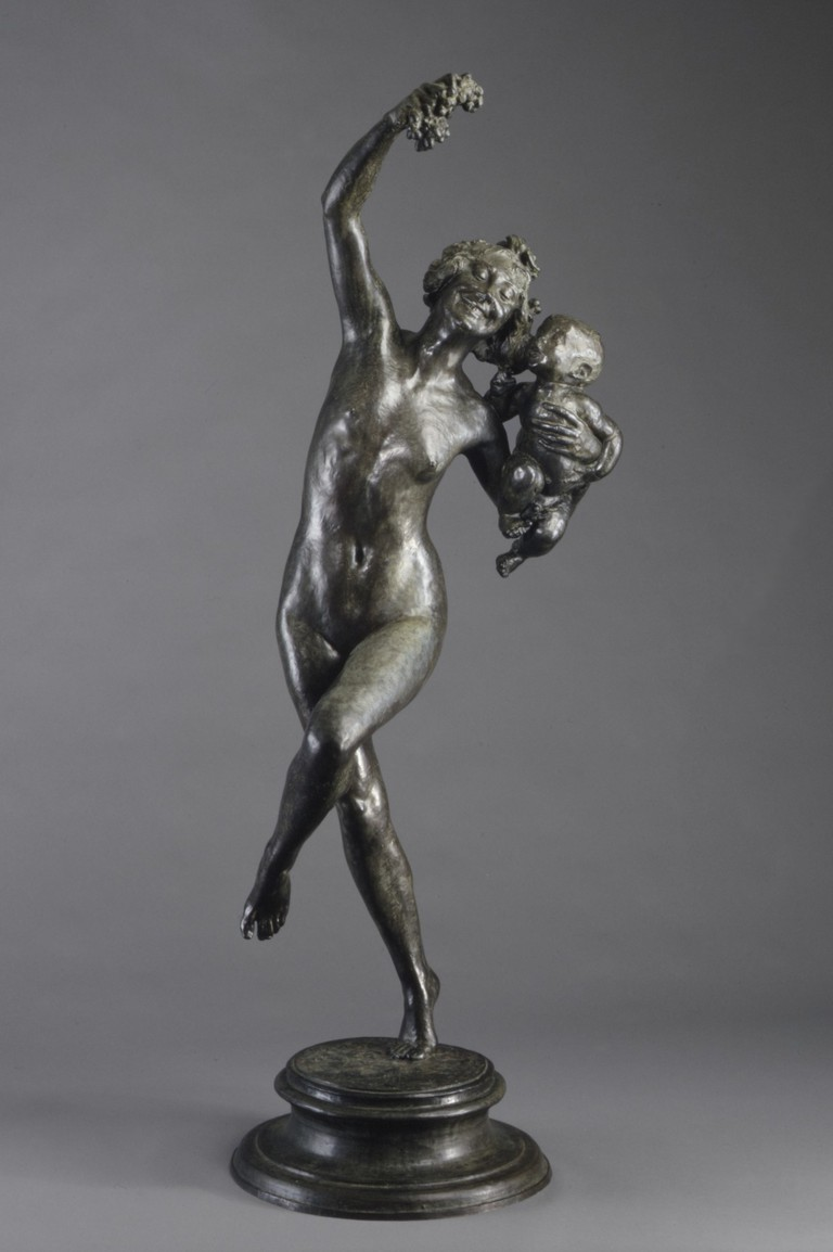 """Frederick William MacMonnies, """"Bacchante and Infant Faun,"""" (1893, cast in 1894) 