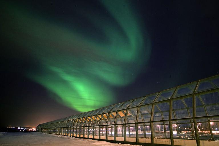Arktikum and the Northern Lights