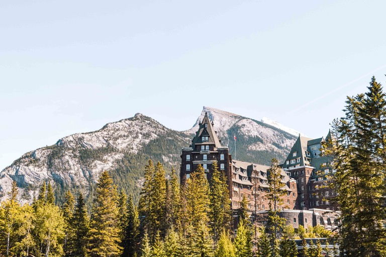 Fairmont Banff Springs' surroundings