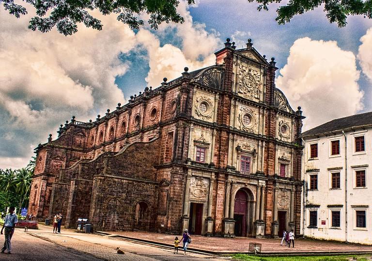 Basilica of Bom Jesus Old Goa