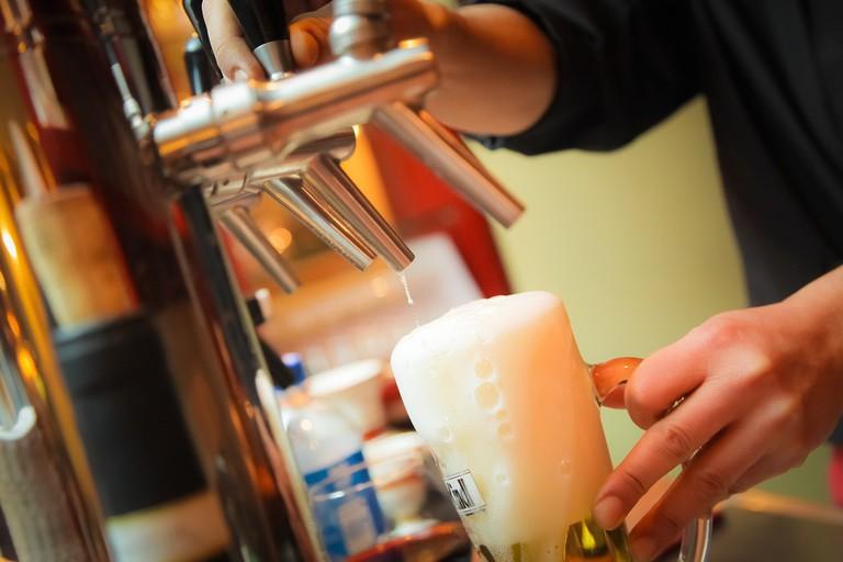 Beer on tap   RestaurantAnticaRoma / Pixabay