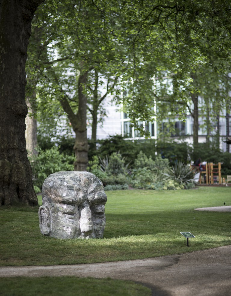 David Breuer-Weil's Brainbox installed in Portman Square