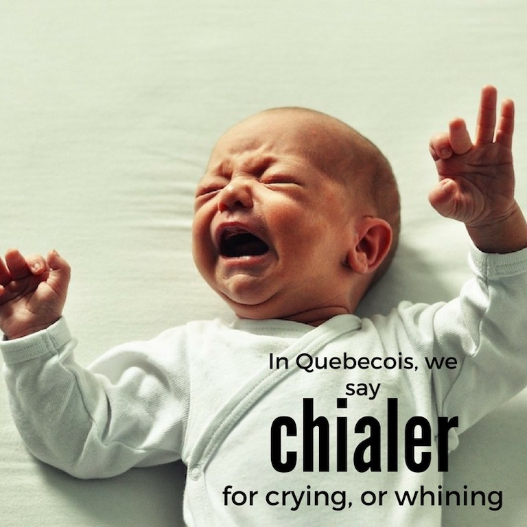 Chialer – Crying or whining