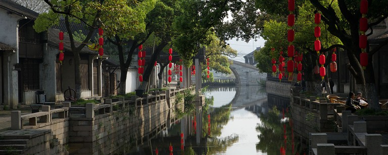 The Grand Canal made Wuxi one of China's most prosperous cities during the early Tang dynasty (618—907)