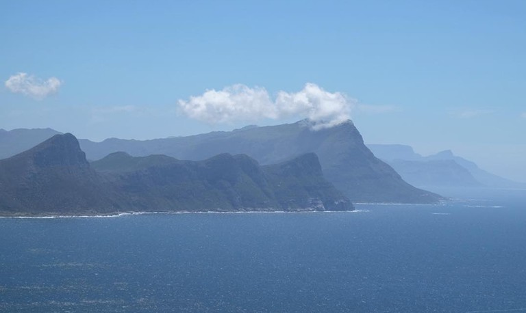 The road to Cape Point offers dramatic views