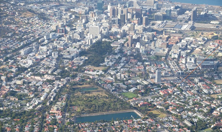 Cape Town's CBD is a far-cry from the digitally altered version in Dredd